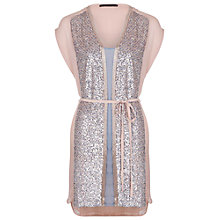 Buy French Connection Sequin Skittle Dress Online at johnlewis.com