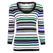Buy Planet Multi Stripe Jumper, Multi Online at johnlewis.com