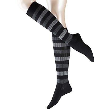 Buy Falke Rib Stripe Knee High Socks Online at johnlewis.com