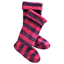 Buy Joules Eden Welly Socks, Ruby Stripe Online at johnlewis.com