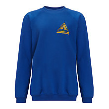 Buy Sherrardswood School Unisex Sweatshirt, Royal Blue Online at johnlewis.com