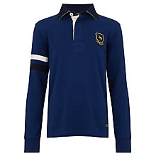 Buy Gant Boys' Racing Striped Long Sleeved Rugby Shirt Online at johnlewis.com