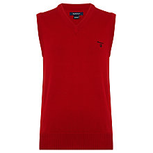 Buy Gant Boys' Solid Slipover Jumper Online at johnlewis.com