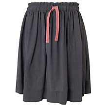 Buy Kin by John Lewis Girls' Gathered Skirt, Grey Online at johnlewis.com