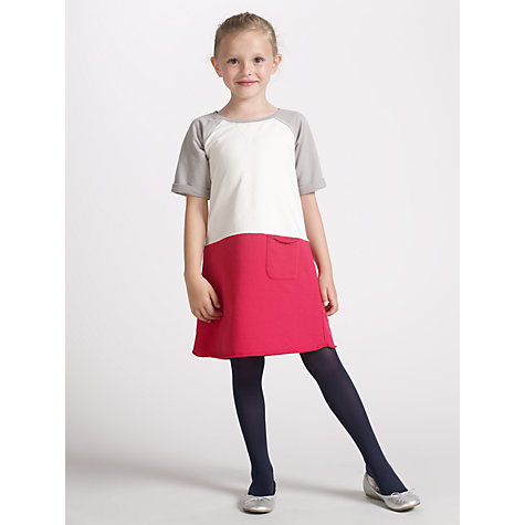 Buy Kin by John Lewis Girls' Jersey Dress, Red Online at johnlewis.com