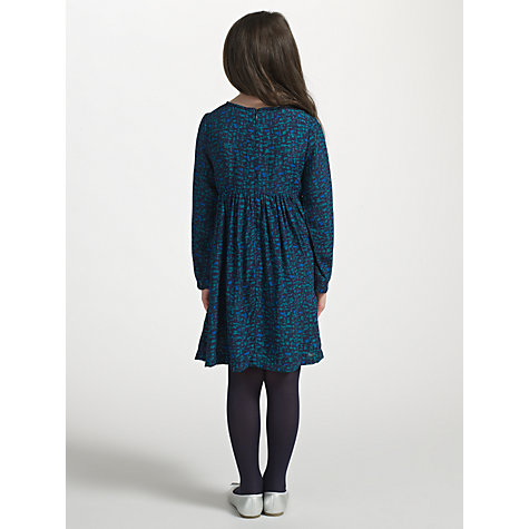 Buy Kin by John Lewis Girls' Print Dress, Navy Online at johnlewis.com