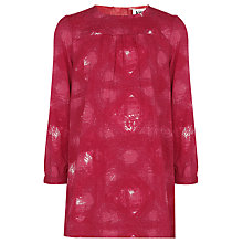 Buy Kin by John Lewis Stress Print Tunic, Red Online at johnlewis.com