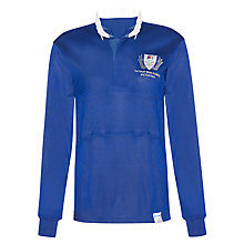 Buy The South Wolds Academy & Sixth Form Unisex Rugby Jersey, Royal Blue/White Online at johnlewis.com