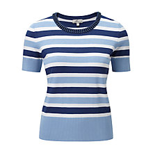 Buy CC Petite Chambray Jumper, Multi Online at johnlewis.com