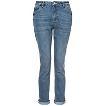 Buy Whistles Alice Slim Boyfriend Jeans, Denim Online at johnlewis.com
