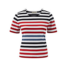 Buy CC Petite Nautical Top, Multi Online at johnlewis.com