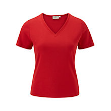 Buy CC Petite V-Neck Basic Top Online at johnlewis.com