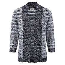 Buy CC Petite Edged Cardigan, Navy/White Online at johnlewis.com
