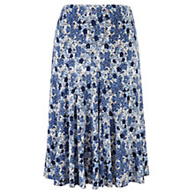 Buy CC Petite Flared Floral Skirt, Chambray/Sky Blue Online at johnlewis.com