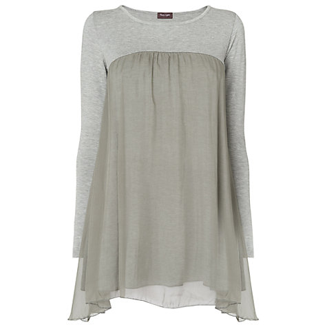 Buy Phase Eight Made in Italy Annette Tunic, Grey Marl Online at johnlewis.com