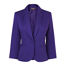 Buy Phase Eight Leah Jacket, Violet Online at johnlewis.com