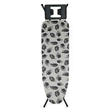 Buy John Lewis Grey Feathers Ironing Board Cover Online at johnlewis.com