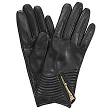 Buy Somerset by Alice Temperley Zip Detail Leather Gloves Online at johnlewis.com