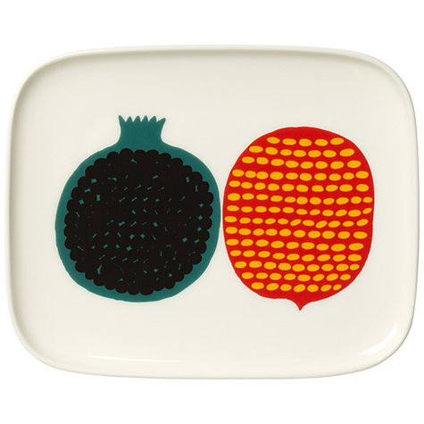 Buy Marimekko Kompotti Plate Online at johnlewis.com