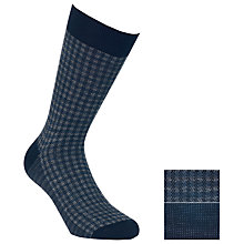 Buy John Lewis Check Merino Socks, Pack of 2 Online at johnlewis.com