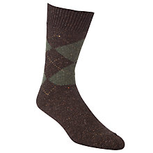 Buy John Lewis Argyle Socks, Pack of 2 Online at johnlewis.com