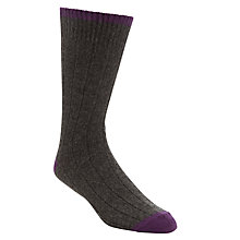 Buy John Lewis Cashmere Heel & Toe Socks Online at johnlewis.com