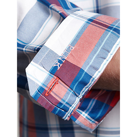Buy Thomas Pink Langhorne Check Casual Long Sleeve Shirt Online at johnlewis.com