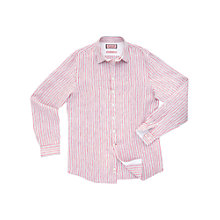 Buy Thomas Pink Raikes Stripe Shirt, Red/White Online at johnlewis.com