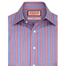 Buy Thomas Pink Hew Slim Fit Stripe Long Sleeve Shirt Online at johnlewis.com