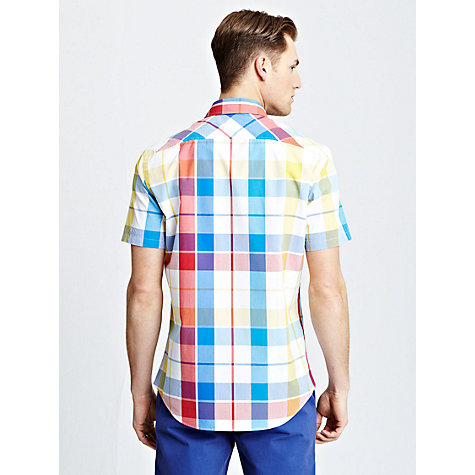 Buy Thomas Pink Harewood Check Short Sleeve Shirt Online at johnlewis.com