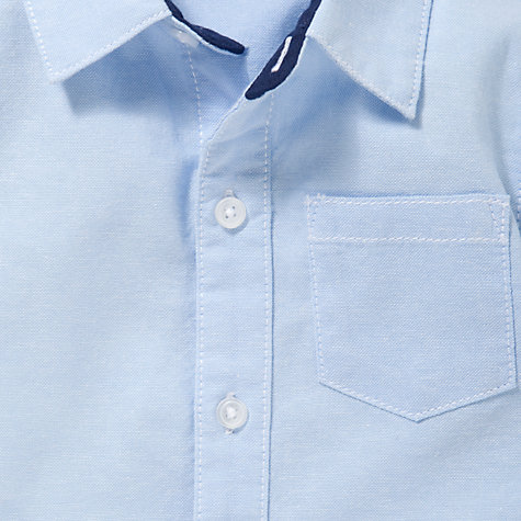 Buy John Lewis Long Sleeve Oxford Shirt, Blue Online at johnlewis.com
