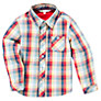Buy John Lewis Checked Shirt, Multi Online at johnlewis.com