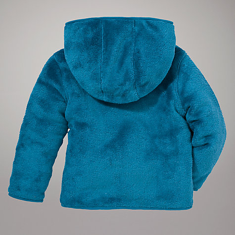 Buy John Lewis Zip Through Fleece, Blue Online at johnlewis.com