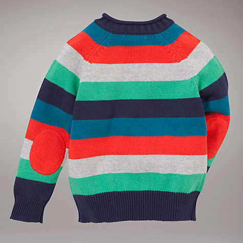 Buy John Lewis Striped Jumper, Multi Online at johnlewis.com