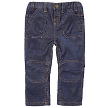 Buy John Lewis Two-tone Corduroy Trousers, Blue Online at johnlewis.com