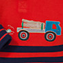 Buy John Lewis French Rib Truck Top, Red Online at johnlewis.com