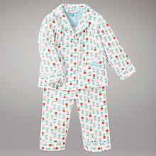 Buy John Lewis Floral Pyjamas, Multi Online at johnlewis.com