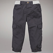 Buy John Lewis Skater Trousers, Grey Online at johnlewis.com