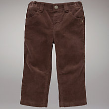Buy John Lewis Corduroy Trousers, Brown Online at johnlewis.com