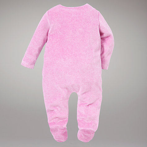 Buy John Lewis Baby Owl Sleepsuit, Purple Online at johnlewis.com