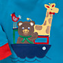 Buy John Lewis Noah's Ark Pyjamas, Pack of 2, Blue Online at johnlewis.com