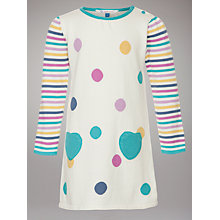 Buy John Lewis Polka Dot Knitted Dress Online at johnlewis.com
