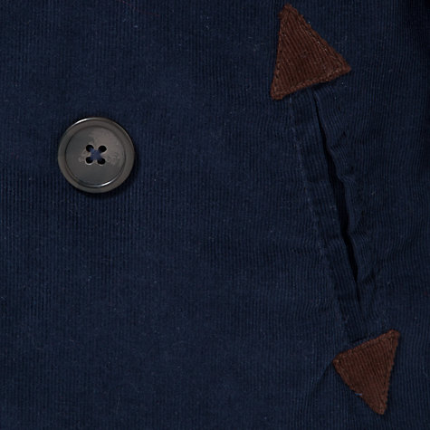 Buy John Lewis Walker Corduroy Jacket, Navy Online at johnlewis.com