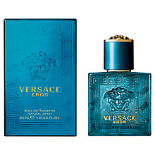 Buy Versace Eros Eau de Toilette Online at johnlewis.com