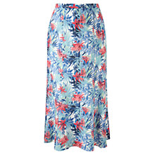 Buy Viyella Tropicana Skirt, Aqua Online at johnlewis.com