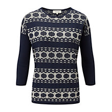 Buy Viyella Lace Stitch Jumper Online at johnlewis.com