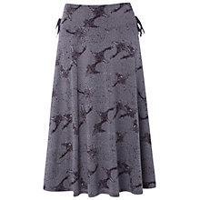 Buy White Stuff Central Park Skirt, Purple Rain Online at johnlewis.com