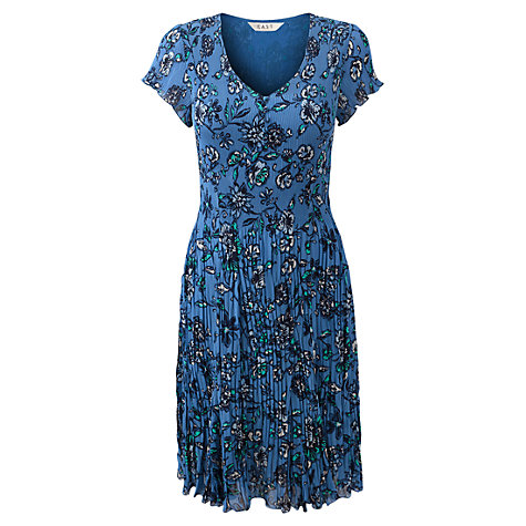 Buy East Rosabelle Printed Dress, Ceramic Online at johnlewis.com