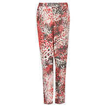 Buy Mango Studded Baggy Pants, Red/Khaki Online at johnlewis.com