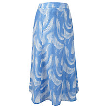 Buy Viyella Blue Wave Skirt, Periwinkle Online at johnlewis.com